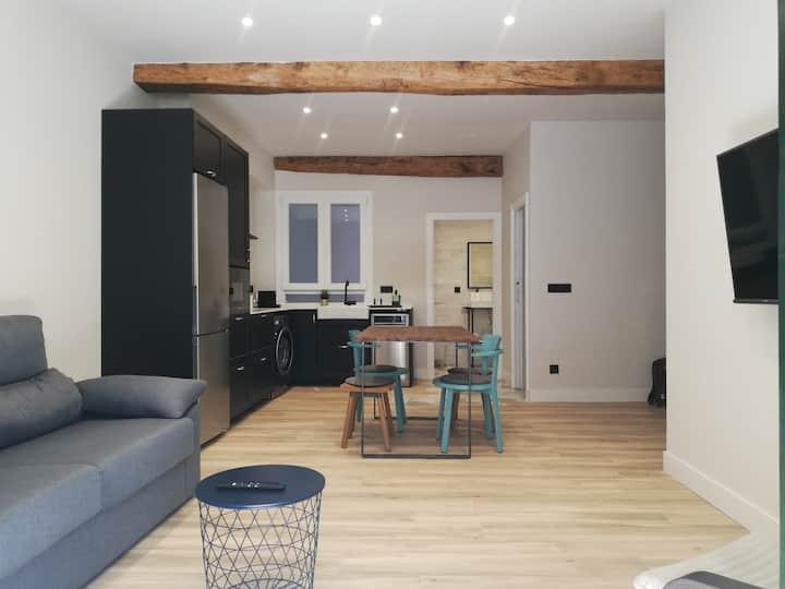 Moderno apartamento en el corazón de Zarautz NAG1