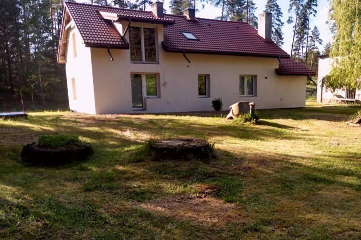 Domek na Mazurach - Krzywonoga