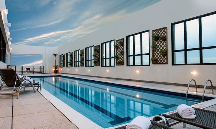 Quarto com total conforto - Comfort Hotel Brasília