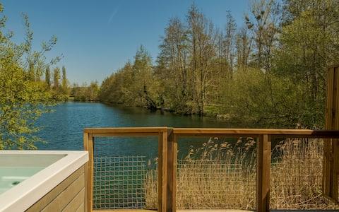 Chalet Nature Jacuzzi face au Lac