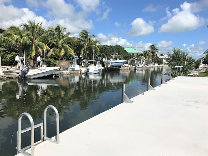 Cudjoe Key - New House- 60' Dock- Deep/Wide Canal