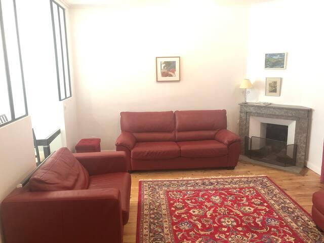 Appartement de charme, moderne et fonctionnel