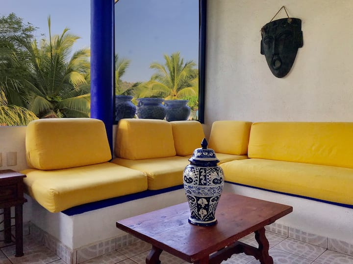 Mexican Villa Palomas 5 min to the Beach