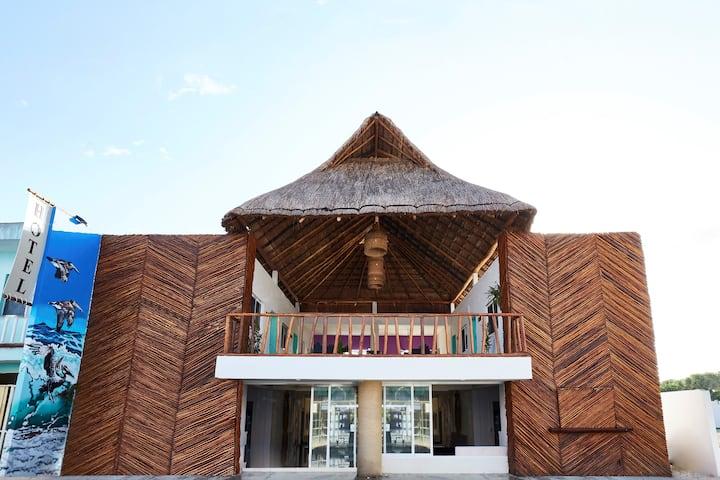 Hotel Pelícano (La puerta a Holbox)