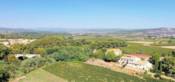 Harmonie Cottage Vineyard-Domain Herbe Sainte