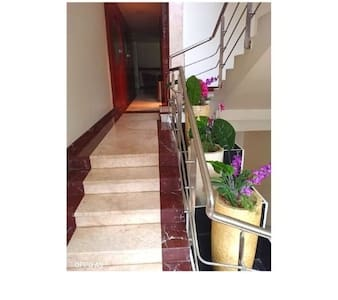 The convenient Staircase and the steps are there for Guests.