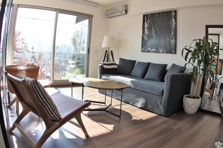 Cool Palermo Studio with Balcony and Swimming Pool