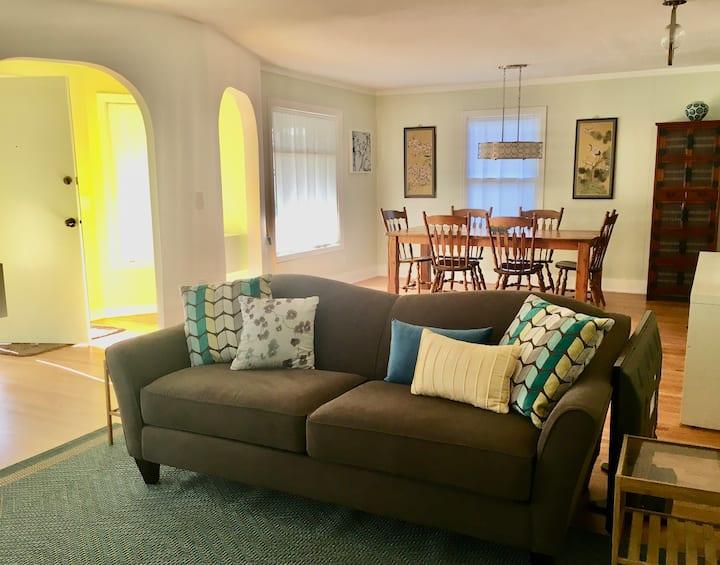 Beautifully Restored, Private, Pet-Friendly Duplex