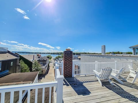 Center of Town with Private Rooftop Deck
