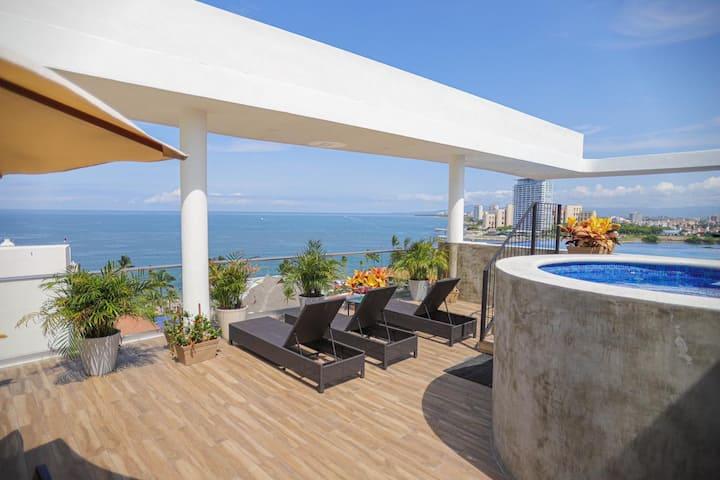 Hermoso y limpio departamento en Puerto Vallarta