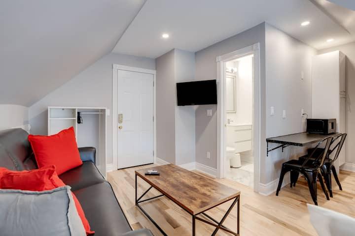 New Large Beautiful Top Floor, Studio, By UofT