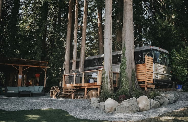 Converted Bus on the Sooke Basin!