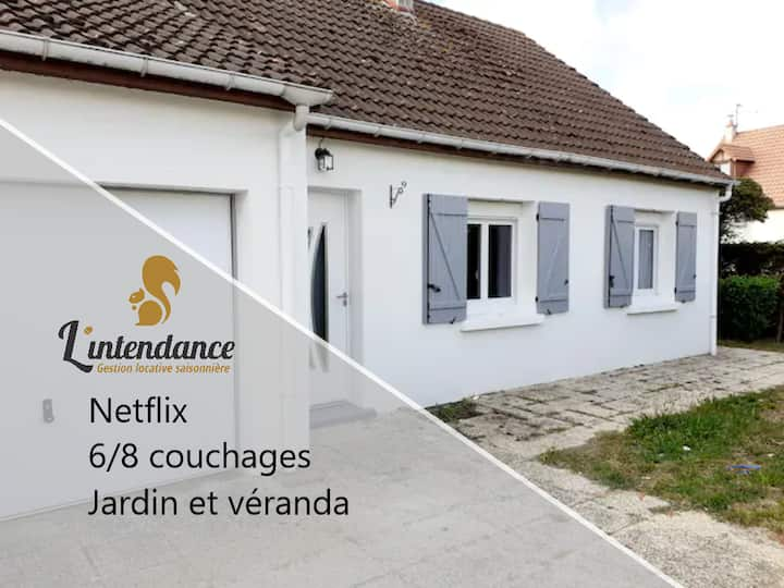 whole cottage house with garden, parking, terrasse
