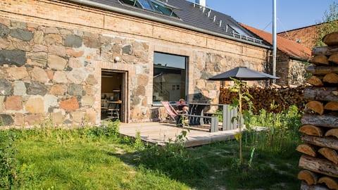 Der Birkenhof - Stallgebäude mit Sauna