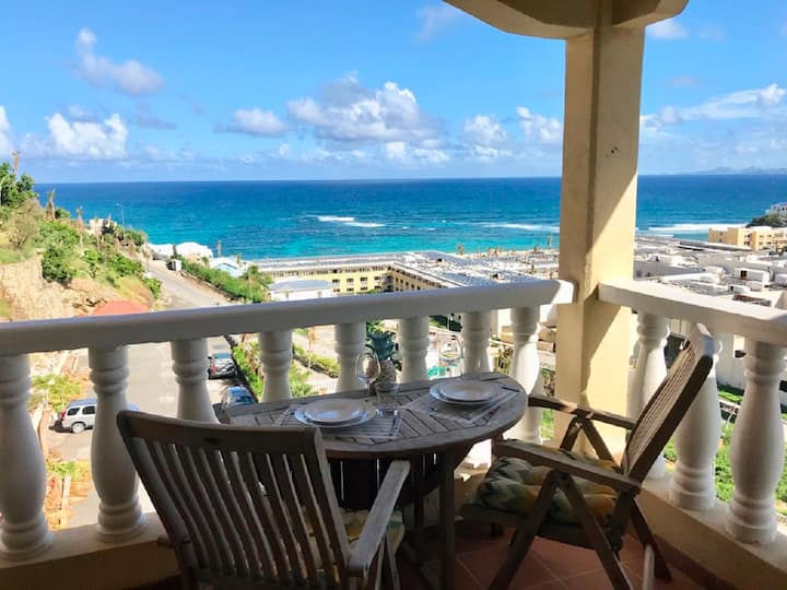 Fantastic ocean view in Sint Maarten