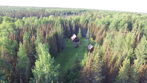 Superior National Forest cabin on 40 acres
