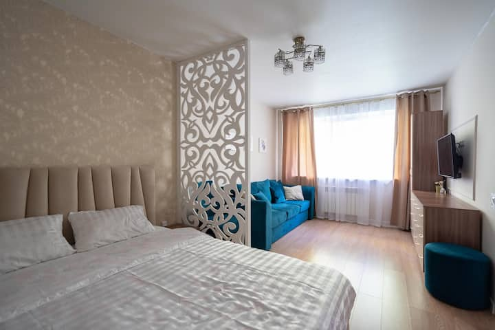 Уютная квартира в сердце Казани для 4х гостей