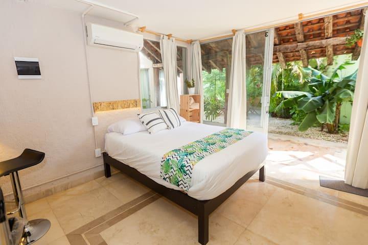 S3 Studio Cancun+A/C+WIFI 500mbps+Close TO Beach