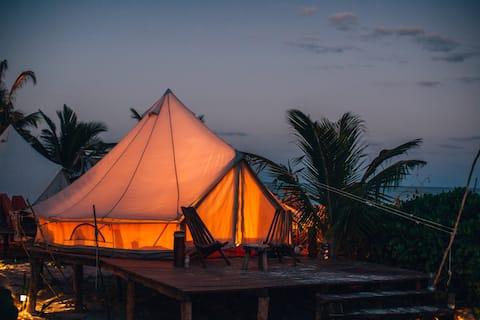 Casa Nawal Tulum - Oceanfront Platform Tent