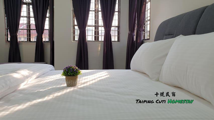 TaipingCuti Homestay 太平十号民宿@  7 to 12 paxs