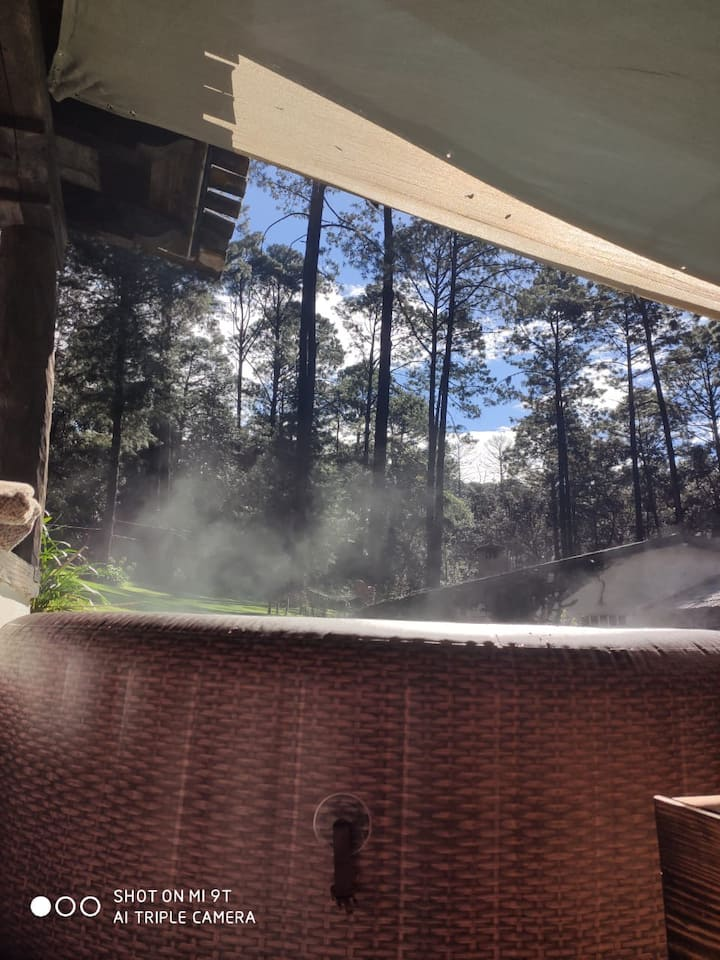 Hermosa Cabaña 2 , incluye  hot jacuzzi sin costo