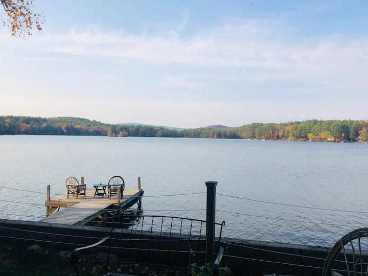 Lakefront, Family + Dog-Friendly Near Mt. Sunapee