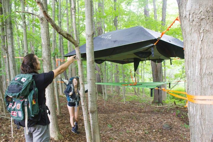 """Camp SkyTent: """"Firefly"""""""
