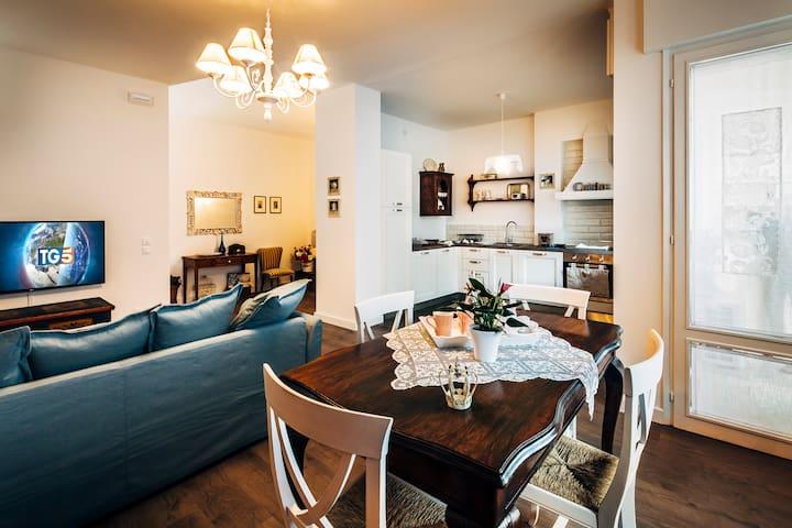 Appartamento con vista a Vittorio Veneto