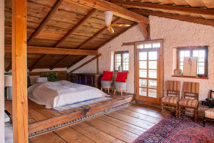 Attic - master suite / loft