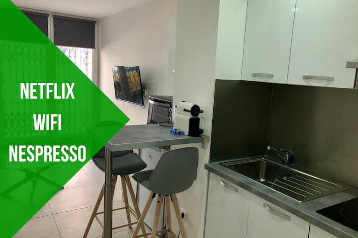 Le studio Provençal  ☀️ Wifi Netflix Nespresso