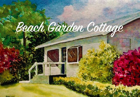 Beach Garden Cottage with panoramic views