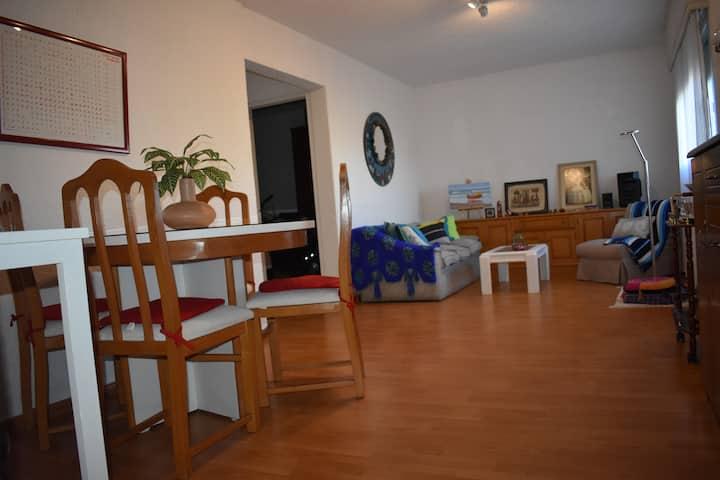 Luminoso  cómodo apartamento junto  Punta del Este