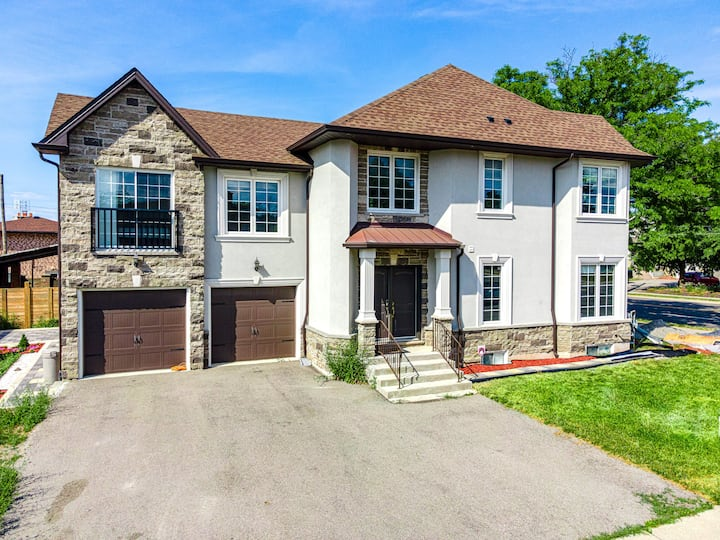 ★Executive★4BDR Detached House+Indoor Gas BBQ+