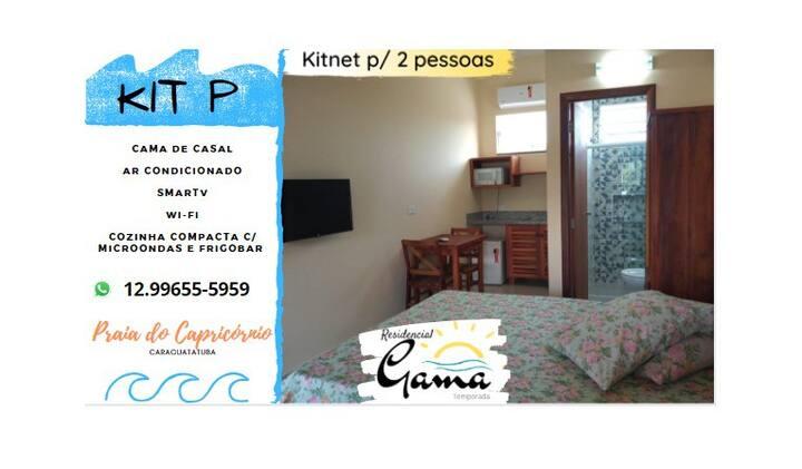 Kits e  Aptos - Praia do Capricórnio - Caraguá