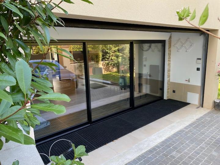 Belle guesthouse indépendante 45m2 en RC pavillon