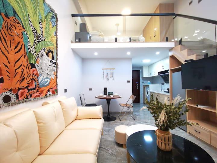 【壹号公寓】北欧复式loft公寓