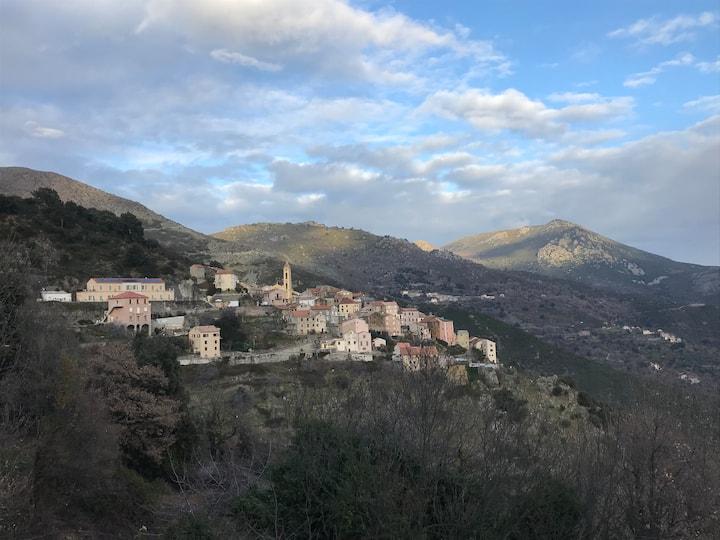Maison de village à Lento Haute Corse