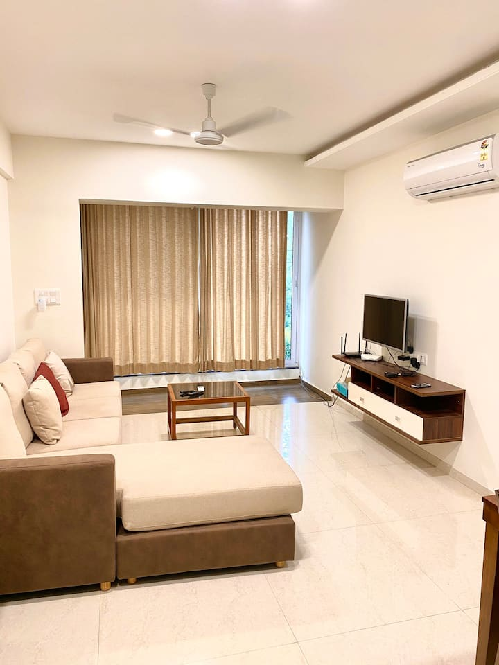 Luxury 3 bed ac flat in Kamatibaug