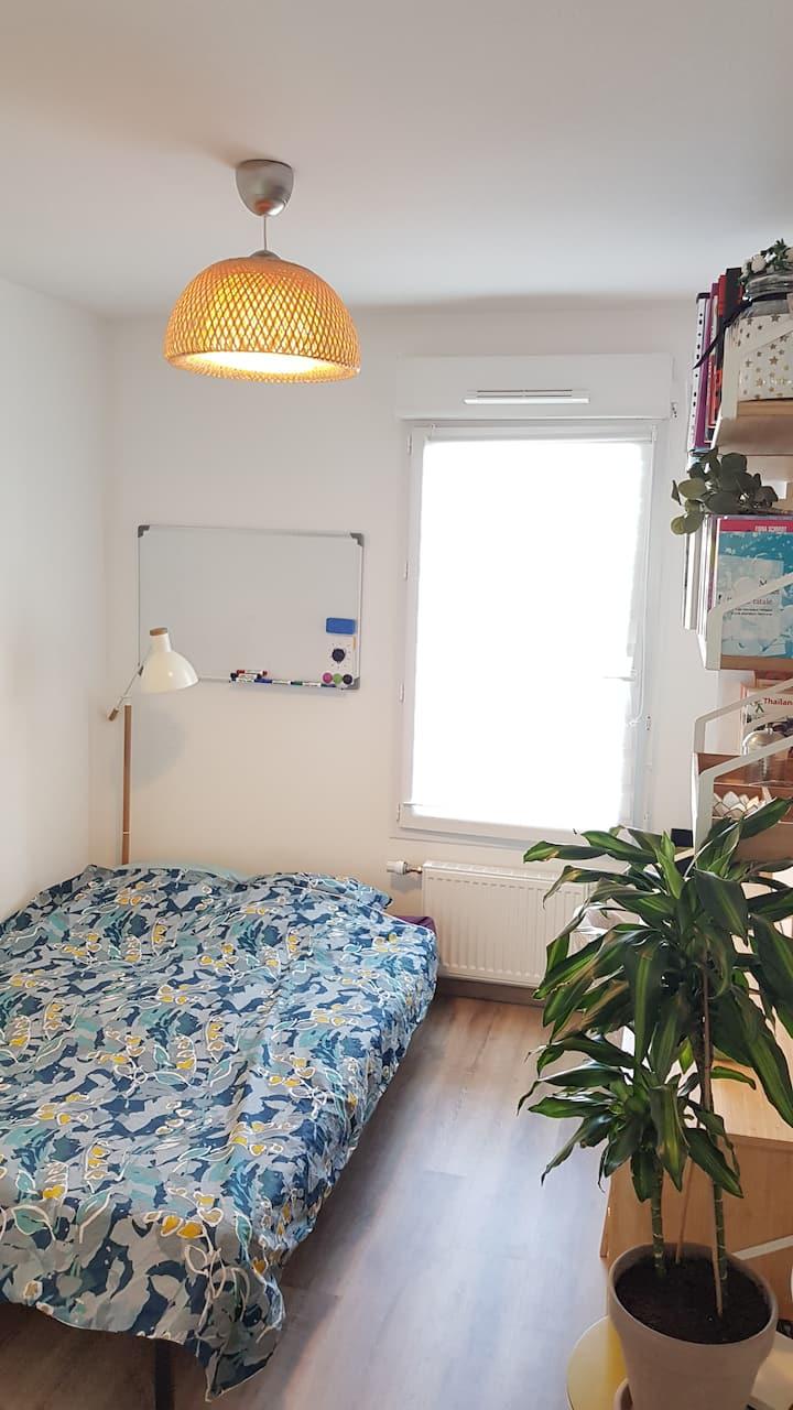 Chambre cosy dans résidence récente