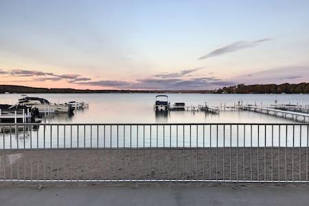 Lake Front Condo Near Petoskey and Harbor Springs