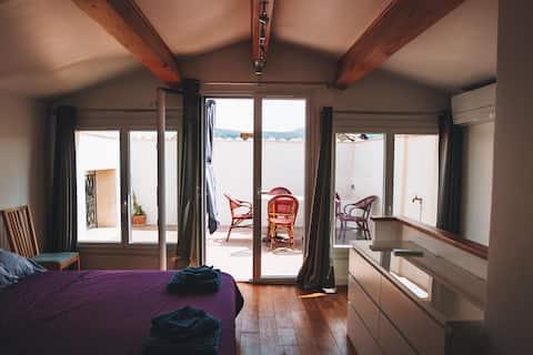 Maison climatisée grand confort proche Lagrasse