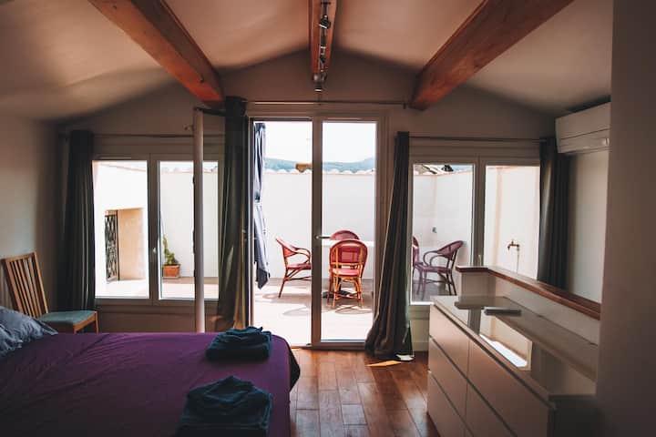 Maison climatisée lumineuse de très grand confort