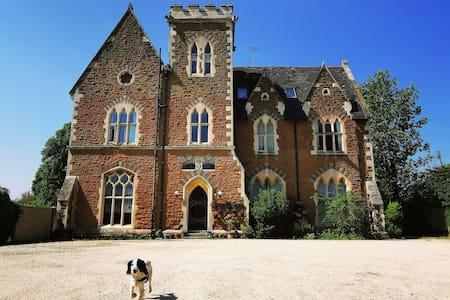 Gothic Mansion Stay in the Forest of Dean