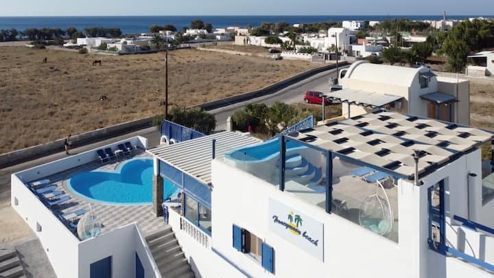 Honeymoon Studio 5 - Near the beach (2-4 guests)