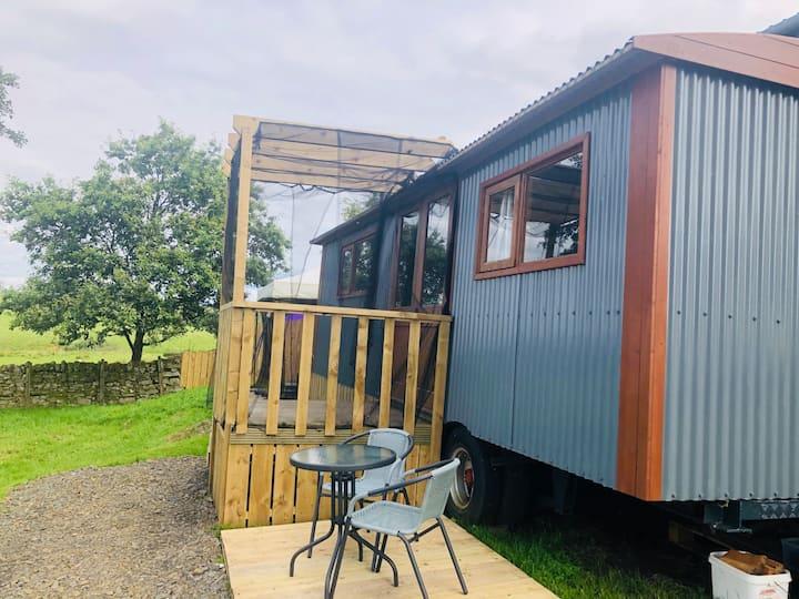 Northumberland luxury shepherds hut getaway