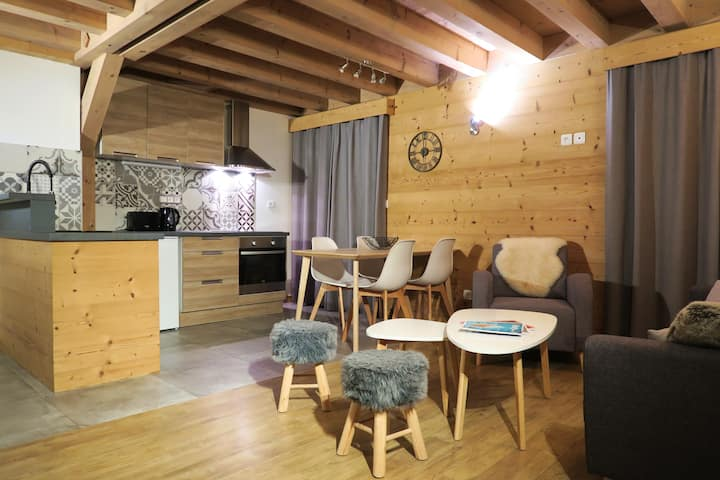 Apartment Mont Chery 2 bedroom near the slopes