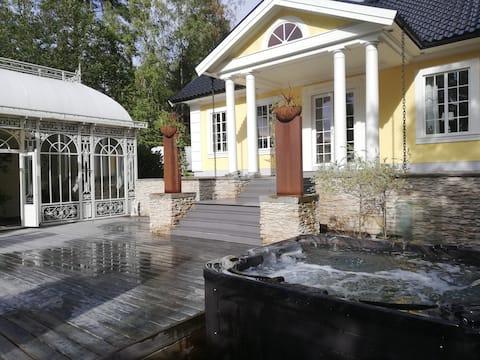 Villa Sanda orangeri och spa