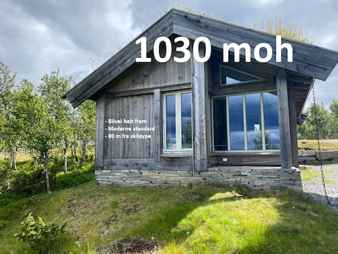 Modern mountain hut. Great location and standard!
