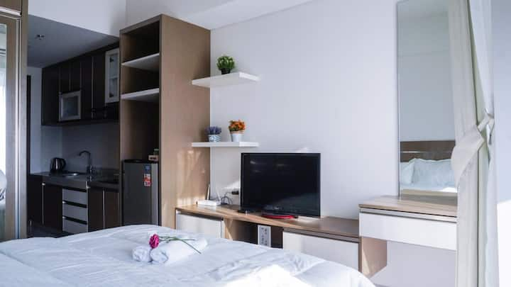Nice & Cozy Studio Apartment #BSD City Tangerang
