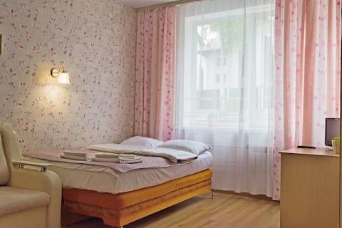 Studio apartment near the airport, Baikal